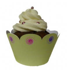 """Ice Cream"" Cupcake Wrappers (Pack of 12)"