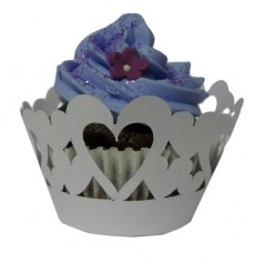 Heart Cupcake Wrappers (Pack of 12)