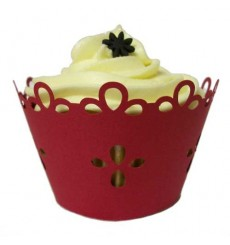 Petals Cupcake Wrappers (Pack of 12)