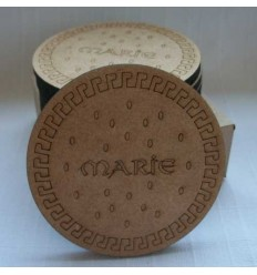 Marie Biscuit Coasters (Pack of 6)