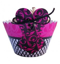 Corset Cupcake Wrappers (Pack of 12)