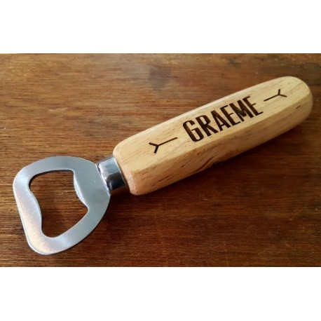 Customised bottle opener