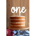 Years in Words Cake Topper