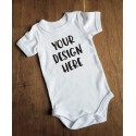 Customised Slogan Onesie (Baby)