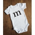Personalised Initial Onesie (Baby)