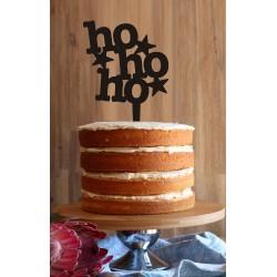 HO HO HO Cake Topper