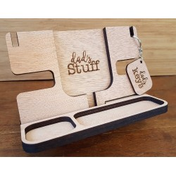 """Dad's stuff"" Organiser and Docking station"