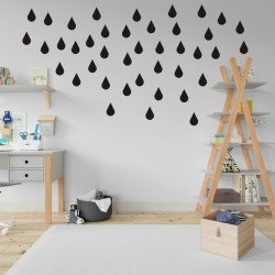 Raindrops Wall Stickers
