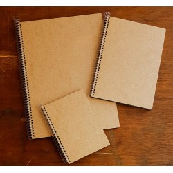 Blank Wooden Notebook