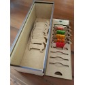PERSONALISED Embroidery Thread Box with Bobbins