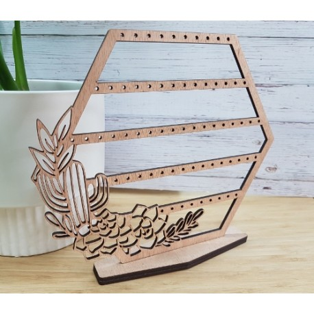 Succulent Earring Stand