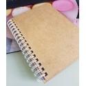 Blank Wooden Notebook