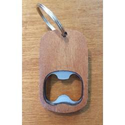 Blank bottle opener keyring
