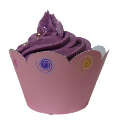 """""""Ice Cream"""" Cupcake Wrappers (Pack of 12)"""