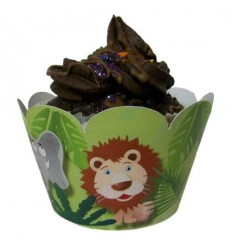 Jungle Cupcake Wrappers (Pack of 12)