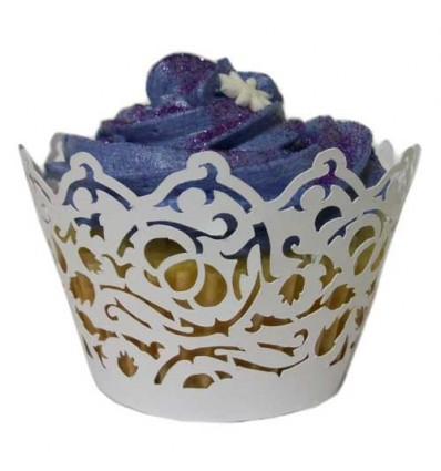 Bridal Couple Cupcake Wrappers (Pack of 12)