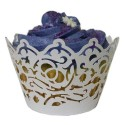 Filigree Cupcake Wrappers (Pack of 12)