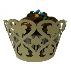 Vintage Cupcake Wrappers (Pack of 12)