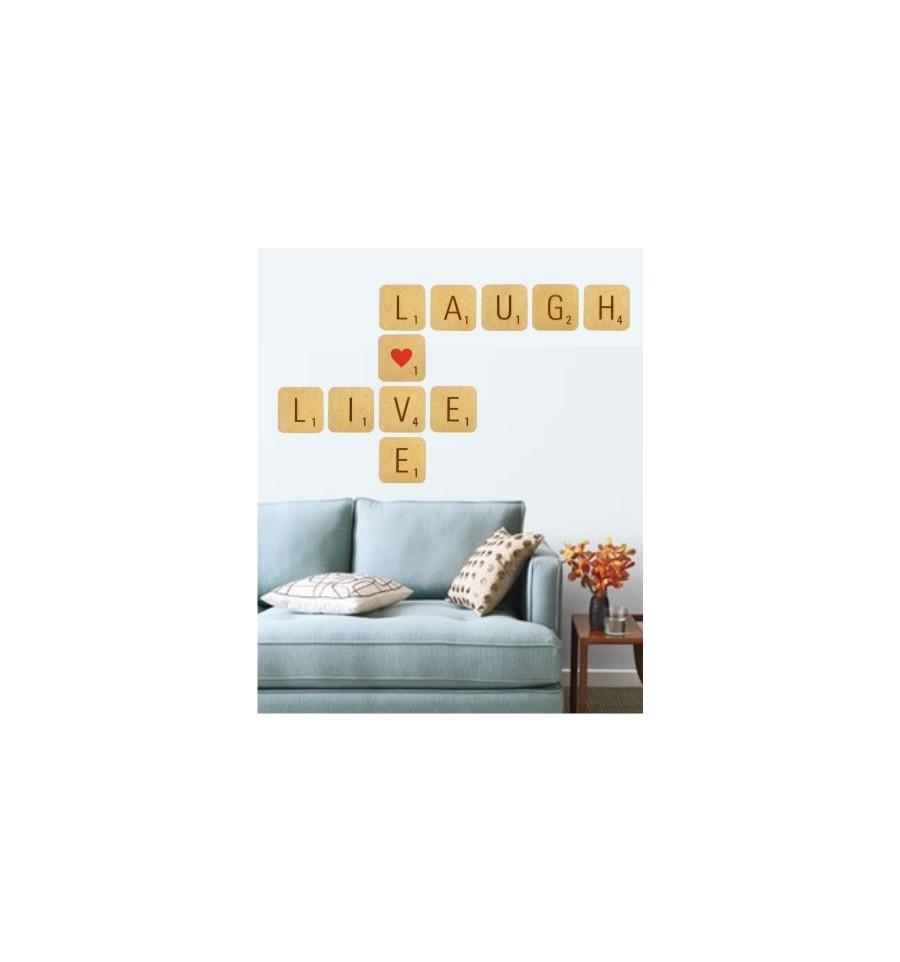 live love laugh giant scrabble tiles 11 tile kit loading zoom