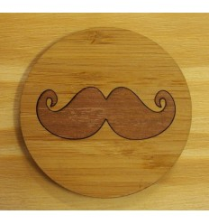 Moustache Coasters (Pack of 4)