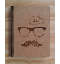 Moustache Notepad