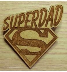 Superdad Badge