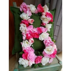 Flower Letter or Number